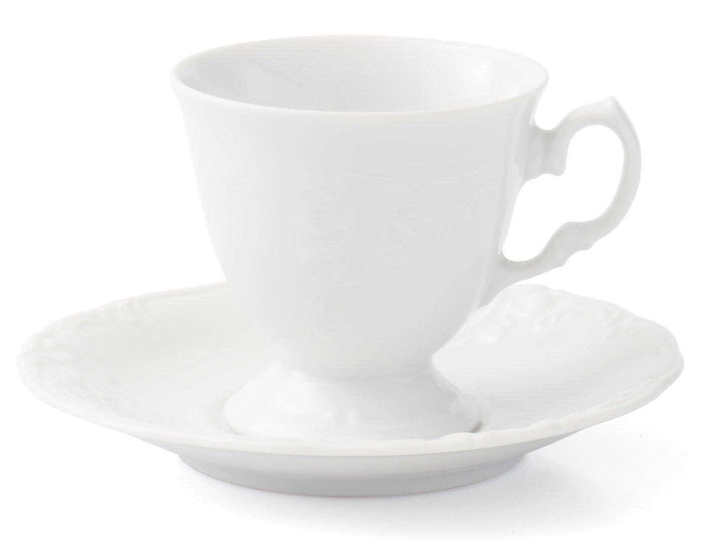 чашка с блюдцем 0,10 6шт - 6216