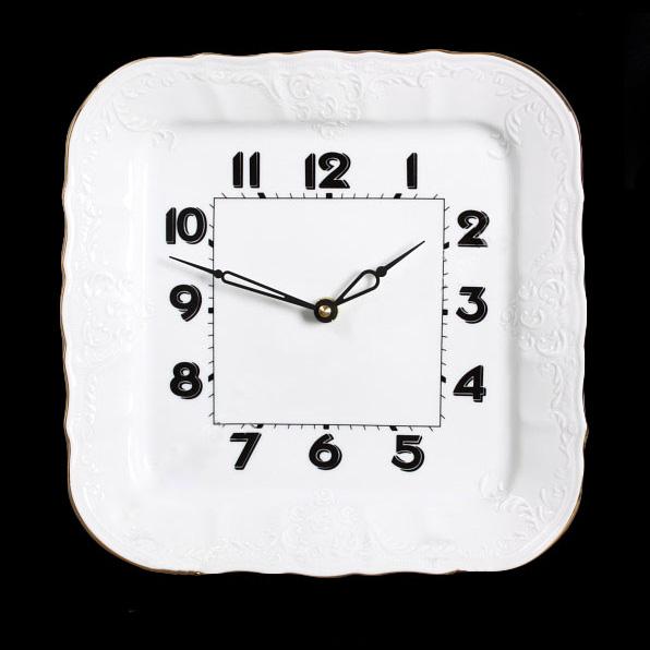 часы квадратные 26см bernadotte - арт. 00000000687