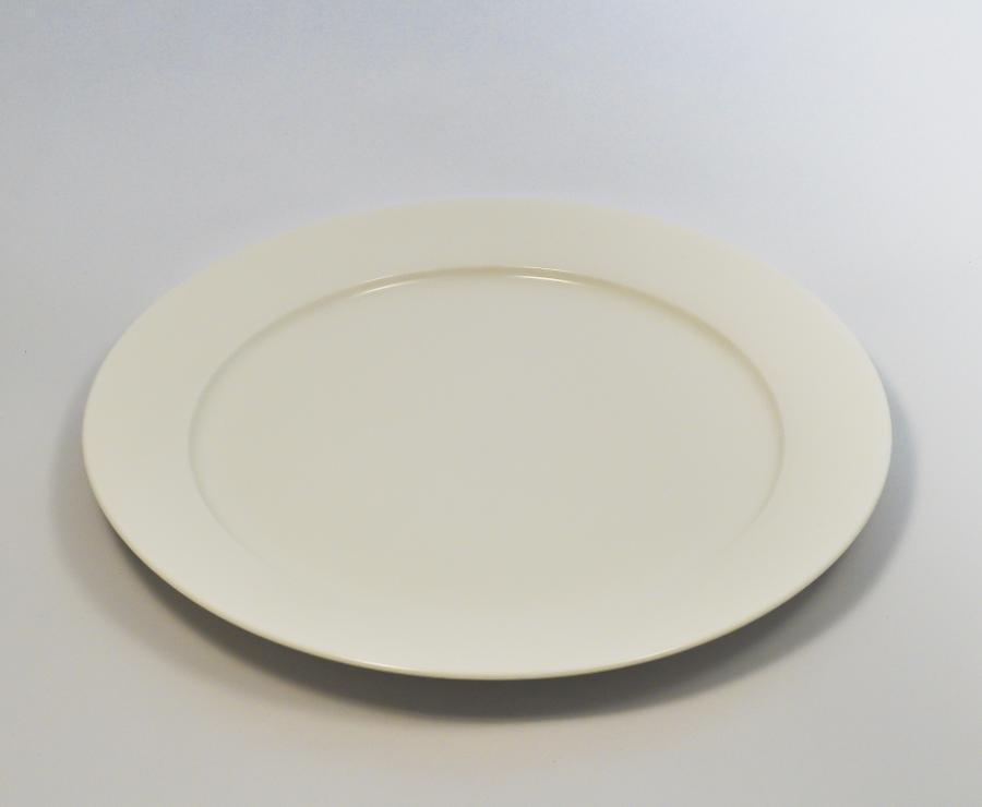тарелка круглая 10(25,5 см) с бортом - yf006